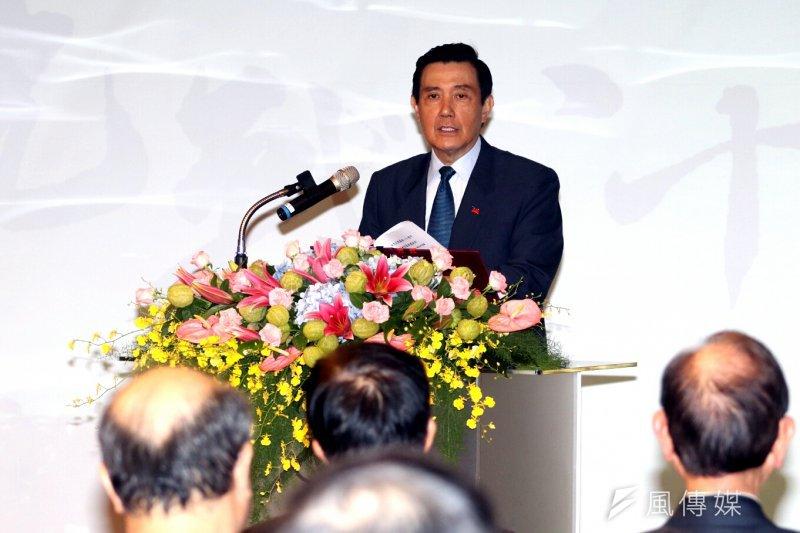 前總統馬英九今(11)日出席花蓮東華大學演講,除對國家時局提出建議,更宣揚其任內兩岸關係穩定、經濟與文化上和平交流是最重要政績。(資料照,蘇仲泓攝)