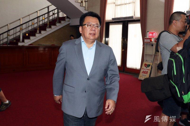 民進黨團書記長李俊俋下午表示,立法院本來就要監督審查預算,不能搞到無法運作、把自己綁死。(資料照,蘇仲泓攝)
