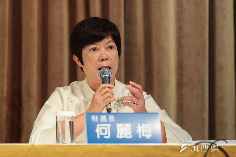 20170713-台積電財務長何麗梅13日出席「台積電2017年第二季法說會」。(顏麟宇攝)