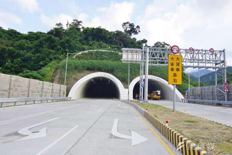 圖為蘇花改工程,蘇澳端隧道口。(盧逸峰攝)