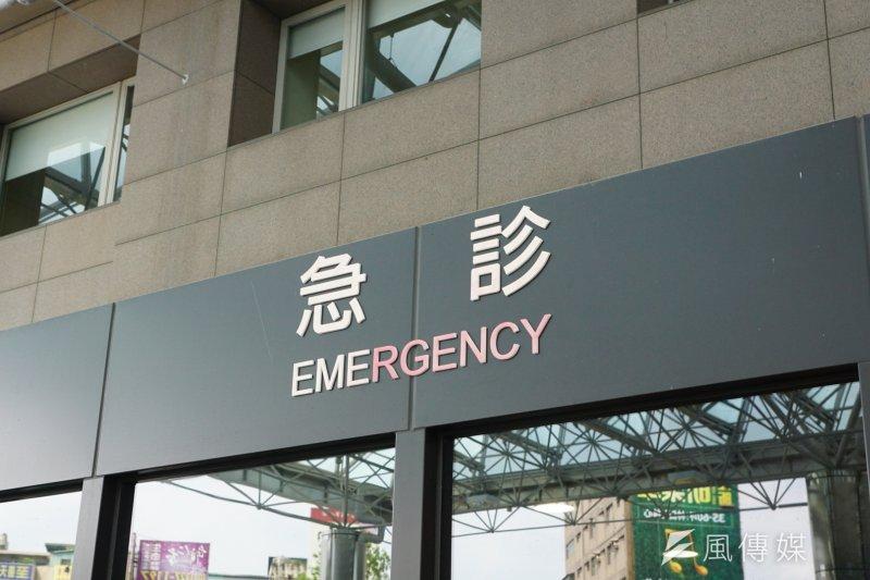 20170714-長庚醫院急診部外觀。(盧逸峰攝)