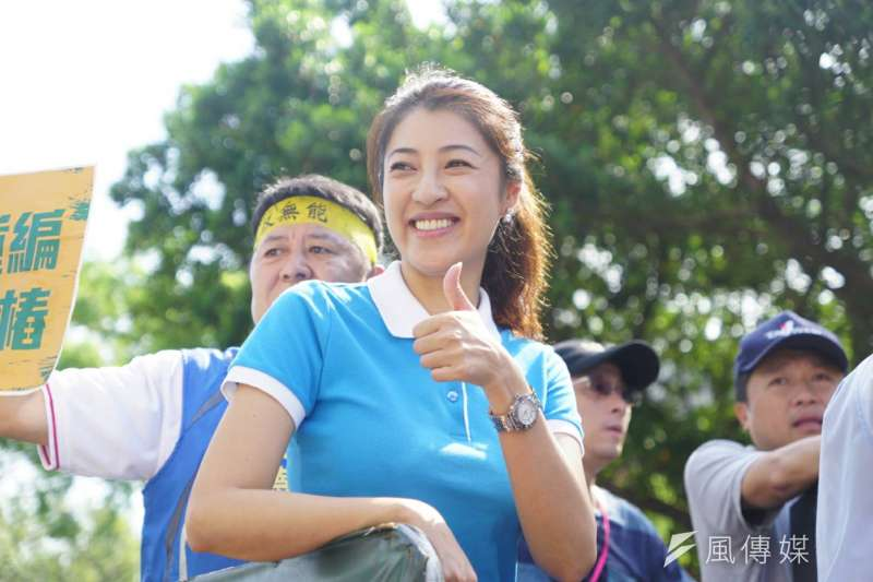 在韓國瑜成功模式下,藍軍內部點名形象好的「刺客」,想在2020年立委選舉反攻綠營鐵票區。圖為立委許淑華(前中)。(資料照,盧逸峰攝)