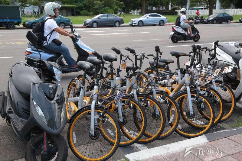 今年1月1日起,台北市單車違停將收取每輛車每次100元拖吊移置費,及每12小時25元保管費。圖為單車示意圖。(資料照,顏麟宇攝)