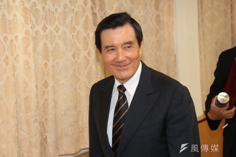 20170715-前總統馬英九15日出席「解嚴30:臺灣邁向開放民主」專題座談會。(顏麟宇攝)