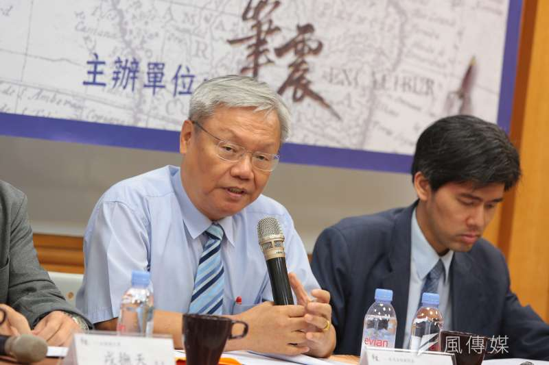 20170715-前司法院副院長蘇永欽15日出席「解嚴30:臺灣邁向開放民主」專題座談會。(顏麟宇攝)