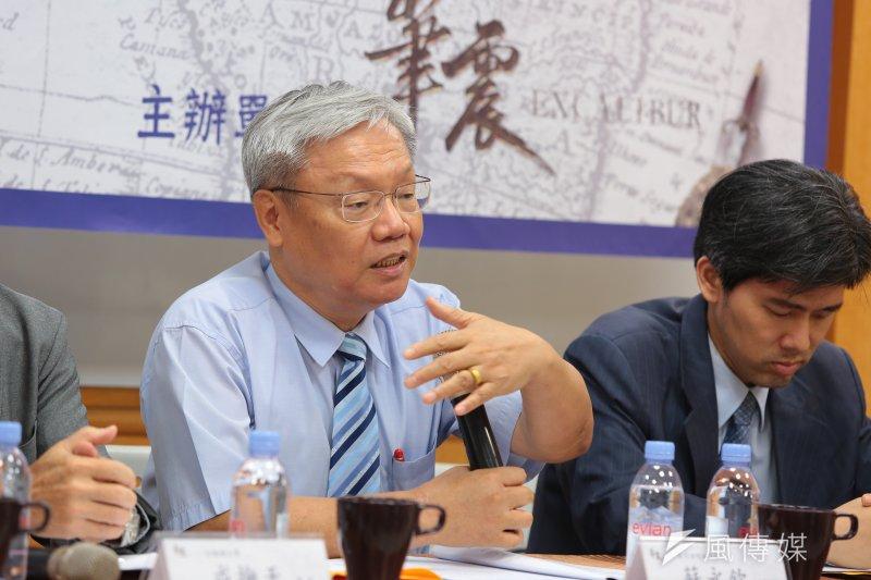 前司法院副院長蘇永欽提到,30年過去,台灣擁有了百分之百的民主與人權,但憲政民主仍未更進步。(顏麟宇攝)