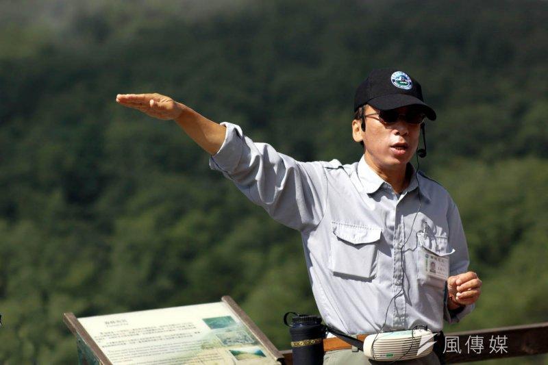 作家苦苓曾在雪霸國家公園擔任解說員(新竹市政府提供)