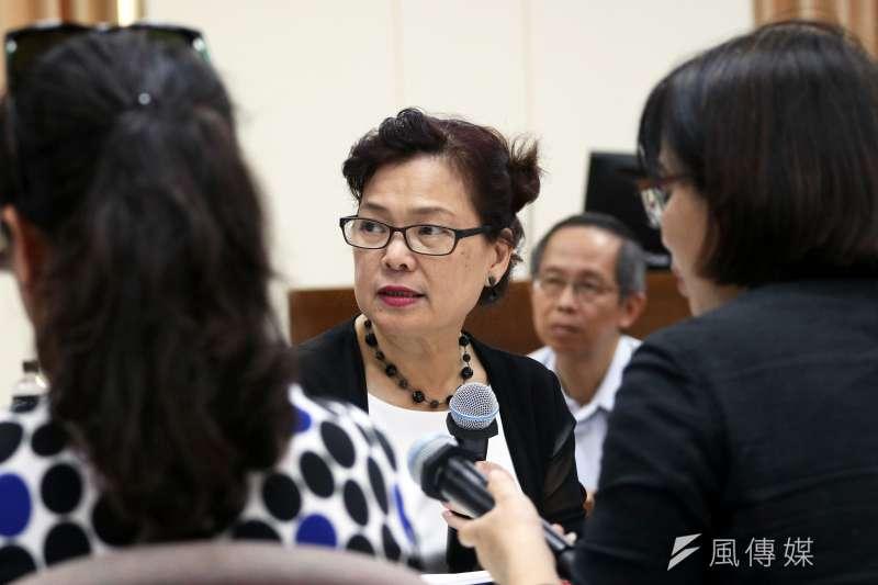 今年7月台灣貿協在越南舉辦形象展,王美花雖然出席,用的頭銜卻不是經濟部次長、而是「台灣貿易中心副董事長」。(資料照片,蘇仲泓攝)