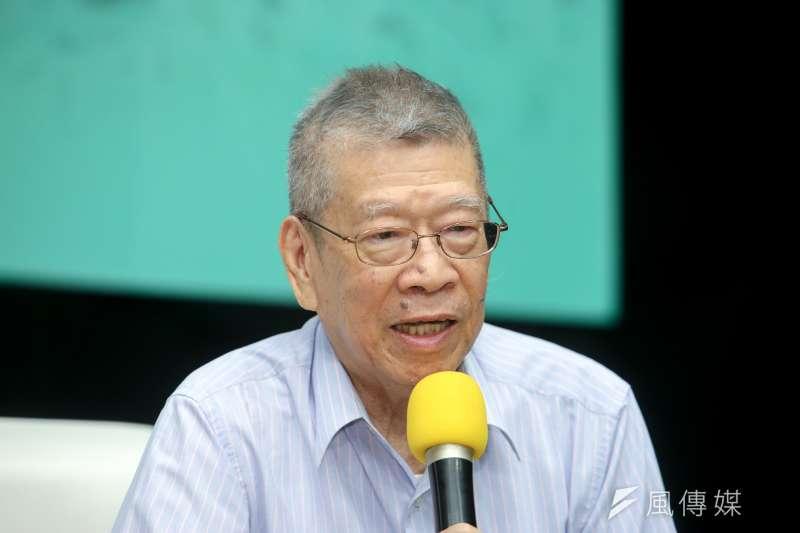國家文藝獎得主、作家鄭清文在今(4)日中午過世,享壽85歲。(資料照,陳明仁攝)
