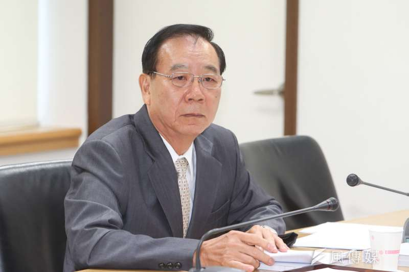 全國工業總會秘書長蔡練生(資料照片,陳明仁攝)