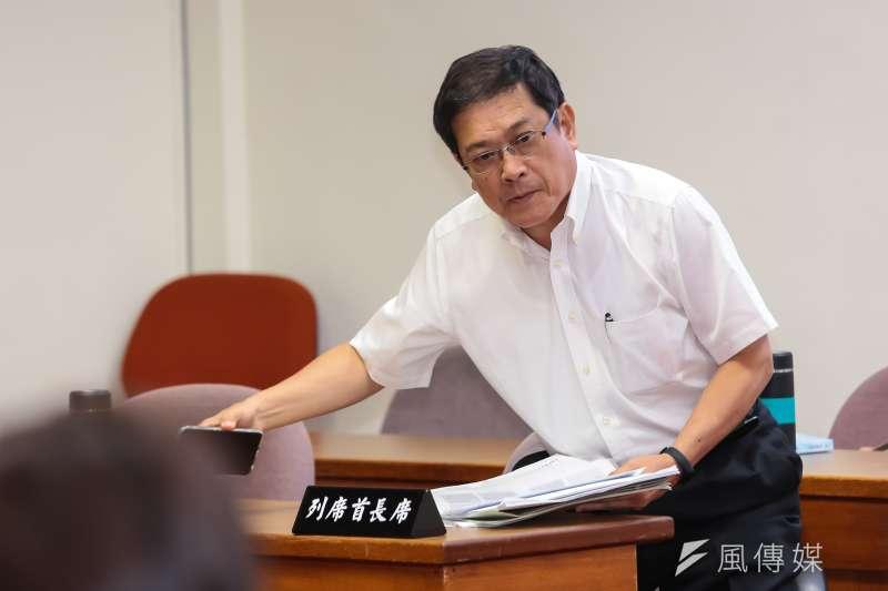 20170720-經濟部次長楊偉甫20日出席經濟委員會審查礦業法。(顏麟宇攝)