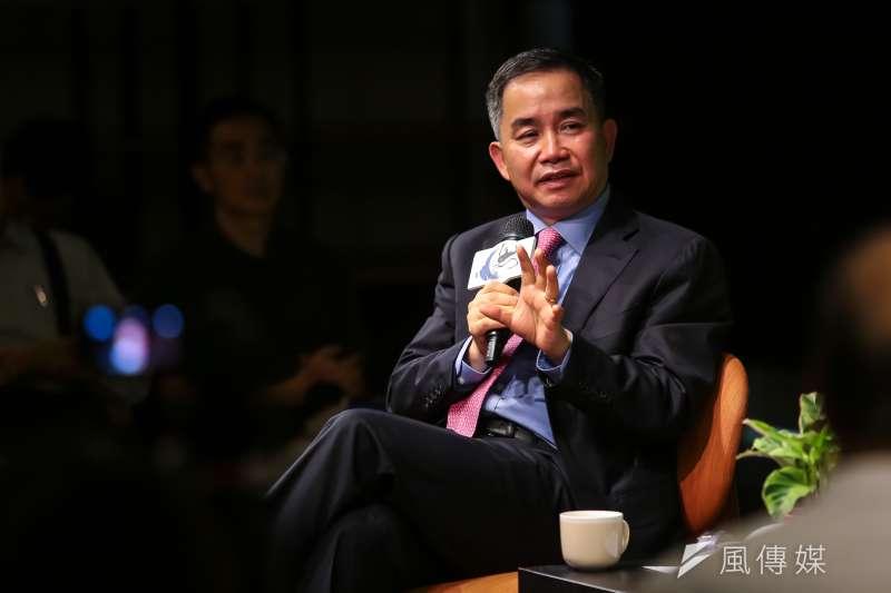 香港大學亞洲環球研究所所長陳志武認為,中國未來經濟的持續發展,取決於個人經濟理性的動機驅動。(顏麟宇攝)