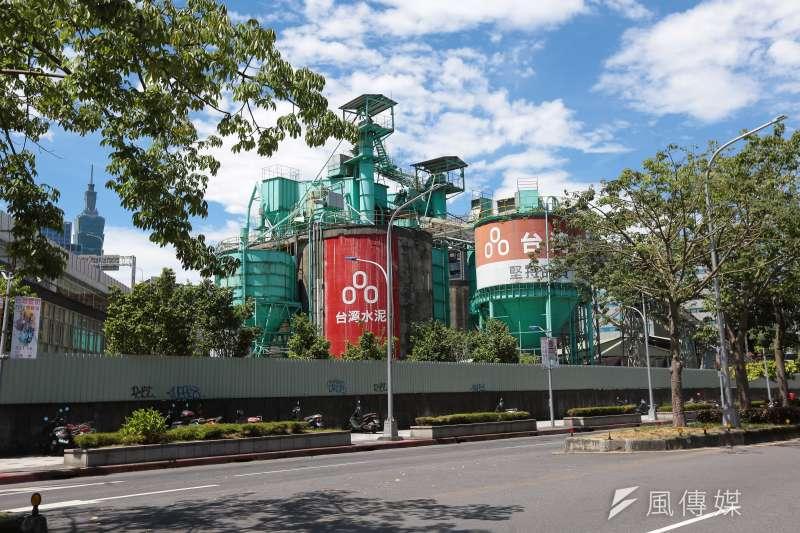 20170722-台灣水泥位於台北市基隆路的水泥預拌廠。(顏麟宇攝)