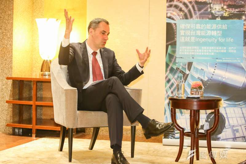 20170727-專訪西門子董事會成員Cedrik Neike,談能源數位化管理。(陳明仁攝)