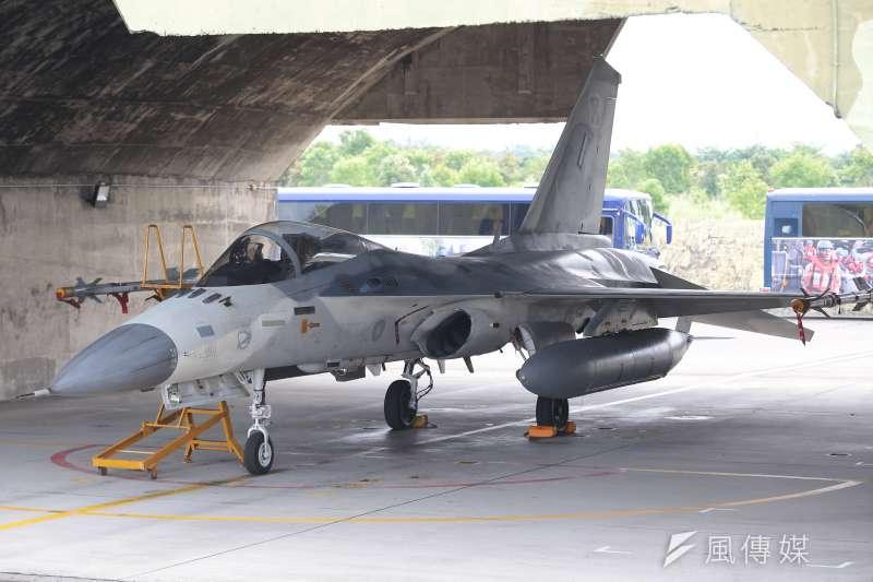 20170728-空軍第443戰術戰鬥機聯隊,IDF經國號戰機。(顏麟宇攝)