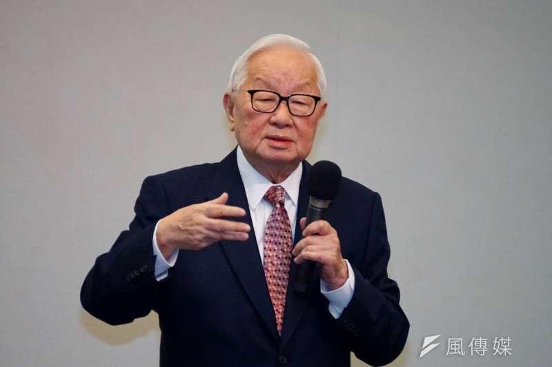 台積電董事長張忠謀說,三星(Samsung)集團會長李健熙曾有意要他為三星做事,只是當時台積電已成立2到3年,不可能離開。(資料照,盧逸峰攝)