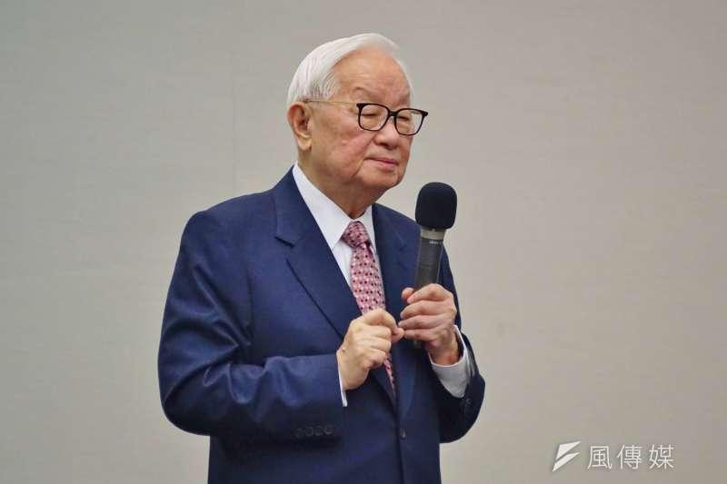 台積電今天舉辦運動會,台積電董事長張忠謀表示,這將是他退休前最後一次運動會。(資料照片,盧逸峰攝)