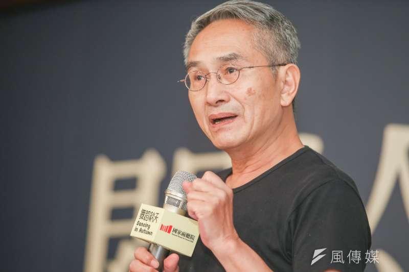 雲門舞集創辦人林懷民宣布,將在2019年退休。(資料照,陳明仁攝)
