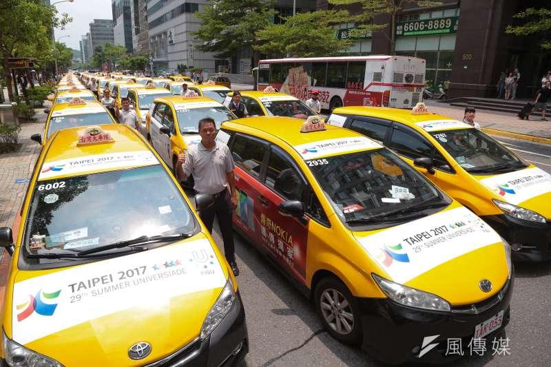 台灣大車隊數據顯示,去年七夕晚上9時至10時,下車地點為汽車旅館及飯店的比率,是平常同時段的3倍。(顏麟宇攝)