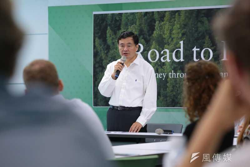 民進黨秘書長洪耀福否認該黨有人企圖推翻柬埔寨政府。(資料照片,顏麟宇攝)
