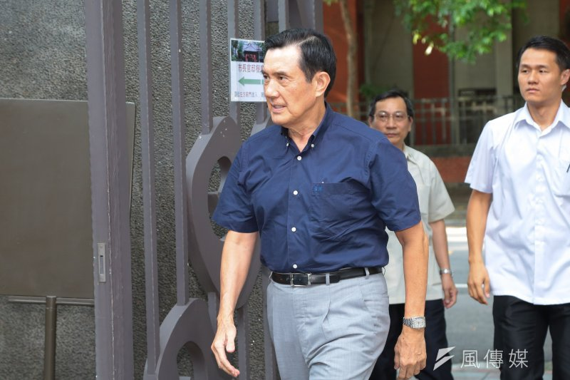 臺北地院日前宣判前總統馬英九涉嫌違反通保法案件無罪。(資料照,顏麟宇攝)