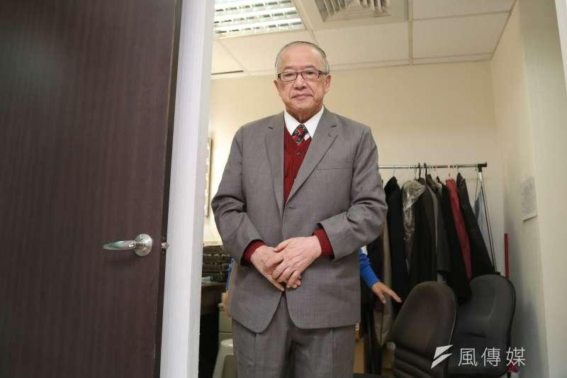 20141122-SMG0019-070-台北市第6屆市長選舉公辦政見發表會,李宏信。(余志偉攝)