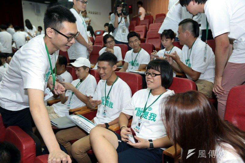 青年創意營隊學員活動為期兩天,盼對基隆未來有助益。(圖/張毅攝)