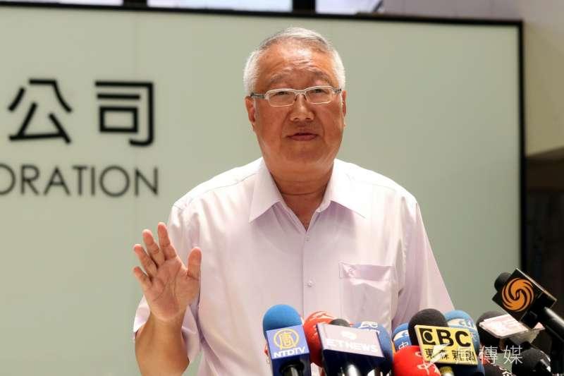 郭台強說,中影被認定為國民黨附隨組織,是藍綠政爭下結果,未來一定會提出行政救濟。(資料照,蘇仲泓攝)