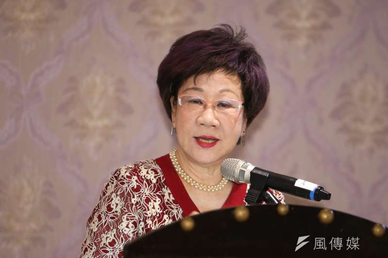 前副總統呂秀蓮說,今年815的斷電讓很多人心生動搖,希望今天與會專家共同探討,剩下這一哩路,台灣是否真能理想達陣。(資料照,陳明仁攝)