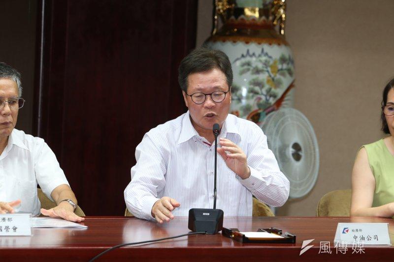 中油董事長陳金德今(17)上談話性節目時表示,在本次維修合約過後,將不再和包商巨路公司續約。(資料照,陳明仁攝)