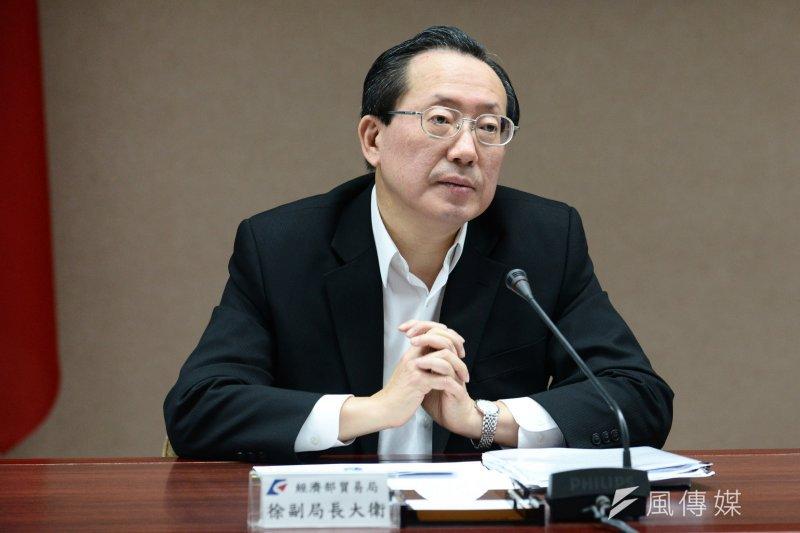 經濟部國貿局副局長徐大衛。(林俊耀攝)