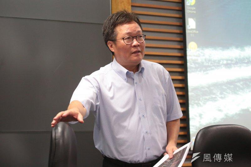 中油董事長陳金德透過管道,對府院表達個人去留,全由上司決定。(顏麟宇攝)