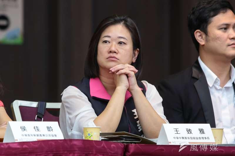 國民黨台北市議員擬參選人王致雅雖然在黨內初選落馬,但18日宣布「參選到底、永不退縮」。(資料照,顏麟宇攝)