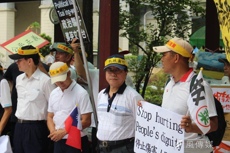 20170819-全國公務人員協會理事長李來希(右二)。(方炳超攝)