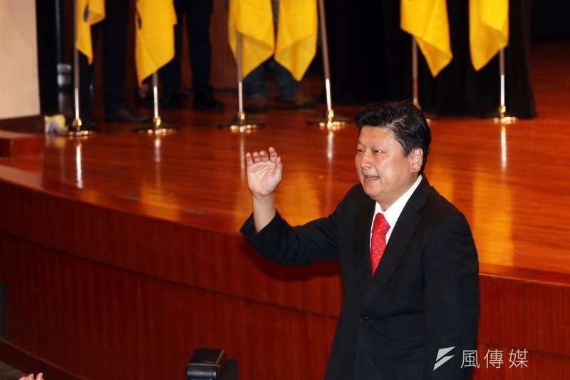 20170820-新黨下午舉行第24屆黨慶,花蓮縣長傅崐萁出席。(蘇仲泓攝)