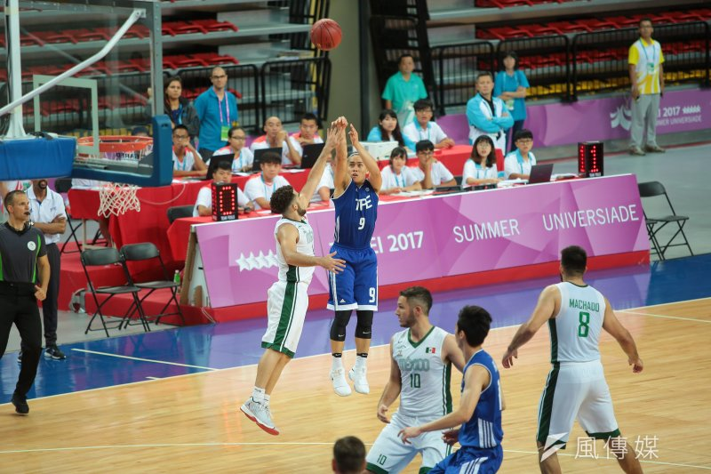 20170822-世大運中華男籃22日以90:88擊敗強敵墨西哥。(顏麟宇攝)