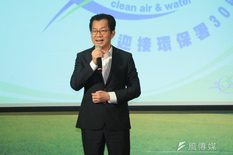 環保署長李應元今(19)日在華府演講,表示有信心2025年達到非核家園的目標,堅定發展再生能源,並期望美國能協助處理台灣核廢料。(資料照,顏麟宇攝)