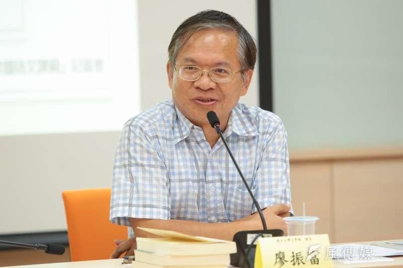 台灣文學館長廖振富(資料照.顏麟宇攝)