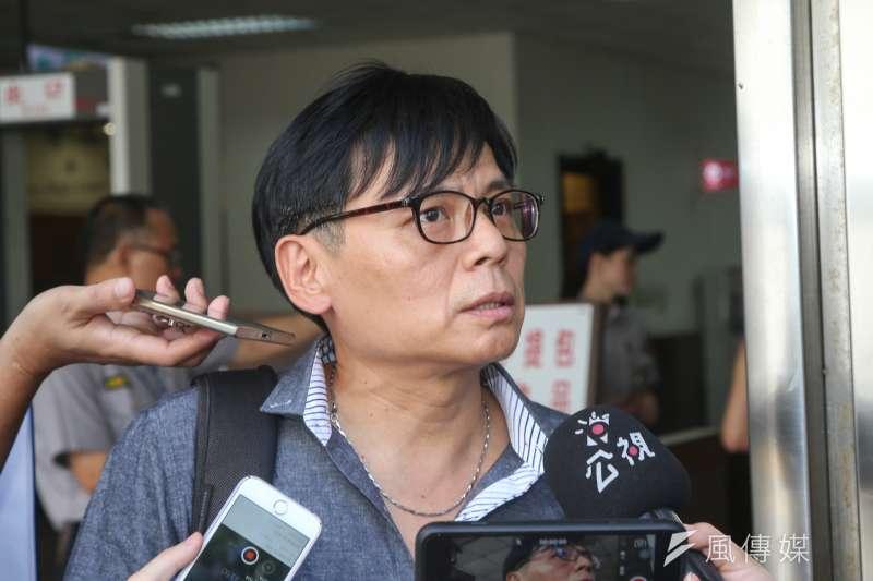 20170829-徐自強聲請刑事補償案訊問庭。(陳明仁攝)