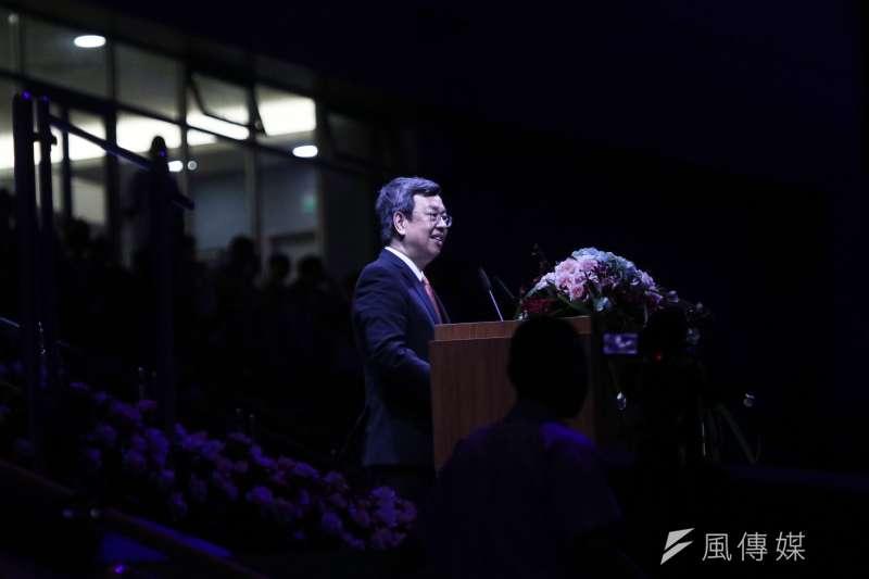 世大運閉幕,副總統陳建仁致詞。(資料照片,蘇仲泓攝)