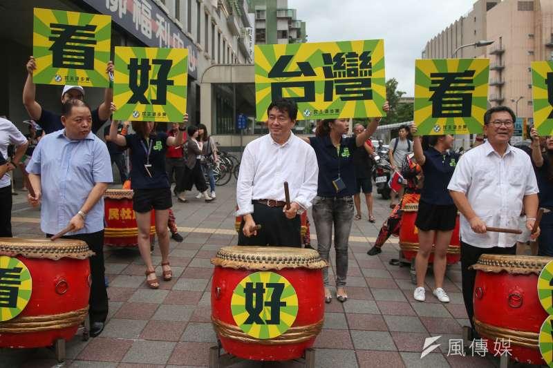 民進黨秘書長洪耀福分析國民黨選情,也透露民進黨焦慮?(資料照/陳明仁攝)