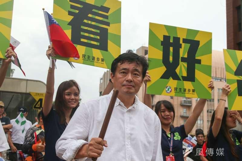 民進黨秘書長洪耀福回應張花冠批評。(資料照片,陳明仁攝)