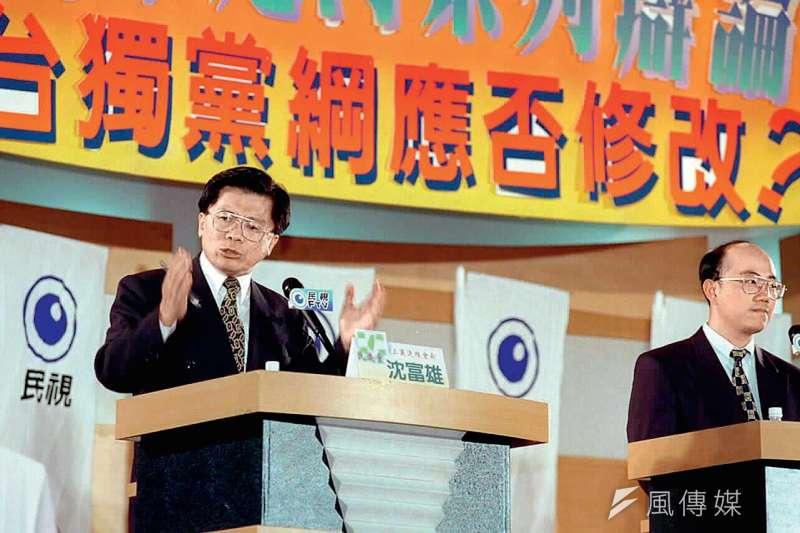 作者指出台獨已不是民進黨的核心價值,台獨黨綱存廢不只是兩岸結構性問題,也是台灣走向世界的障礙。(中國時報提供)