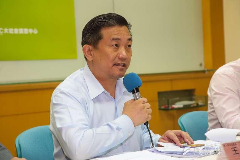 民進黨立委王定宇再爆料,指藍委吳志揚主導的法律公司,為慶富造船向海軍提供建議。(資料照片,顏麟宇攝)