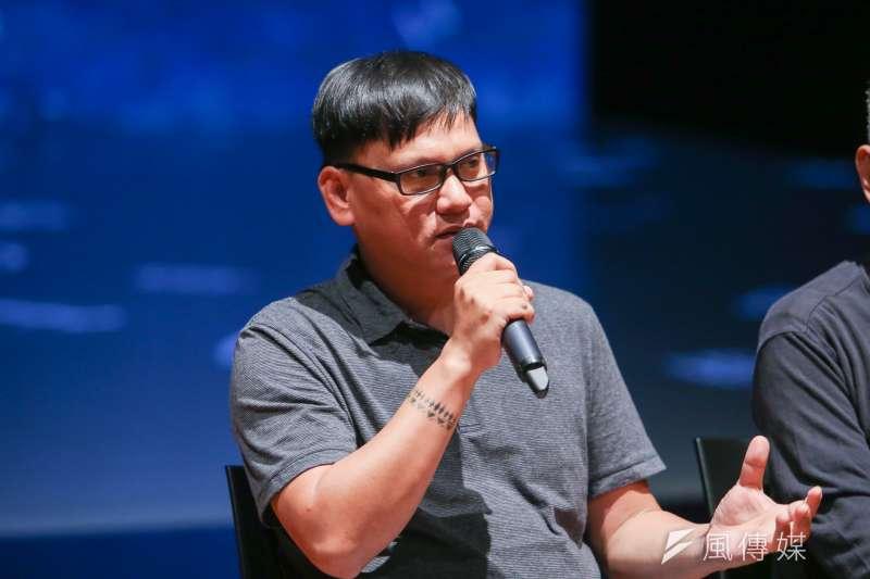 20170904-林懷民70歲直面台灣力作「關於島嶼」彩排記者會,桑布伊。(陳明仁攝)