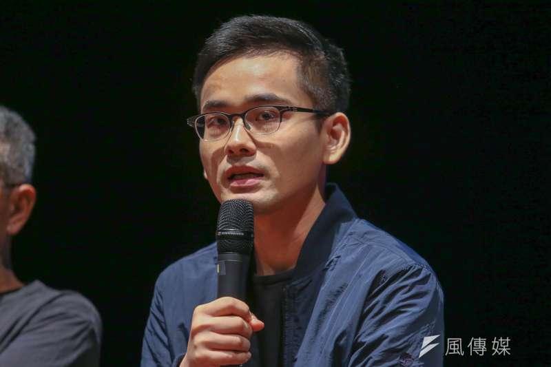 20170904-林懷民70歲直面台灣力作「關於島嶼」彩排記者會,周東彥。(陳明仁攝)