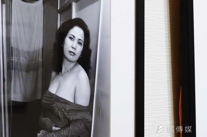 文萌樓「我本善良,何需從良」特展-前公娼官姐。(謝孟穎攝)