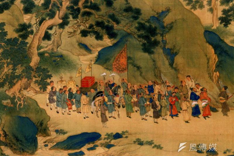「明清時期,『朝鮮使節團』按例連年組織三百人左右的盛大隊伍,浩浩蕩蕩地出使中國。」(秀威資訊提供)