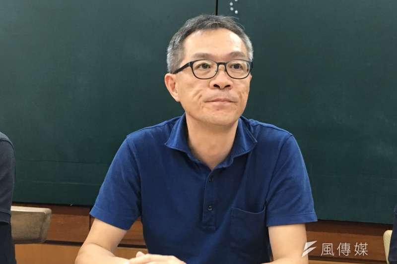 20170907-都發局副局長張剛維。(王彥喬攝)