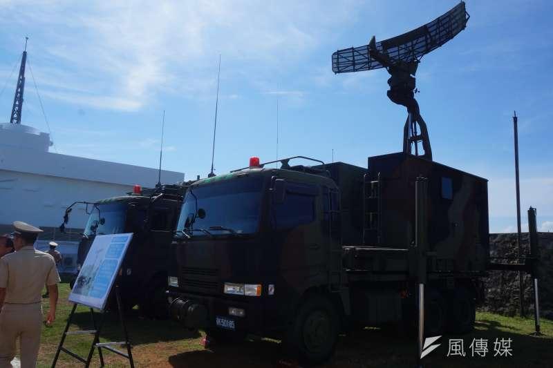 新銳「收發分離多基雷達車」部署位置疑被軍媒曝光,引起國防部長邱國正不滿。示意圖。(資料照,王彥喬攝)
